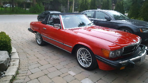 1982 mercedes 380SL in excellent condition