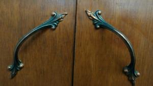 Antique cupboard handles