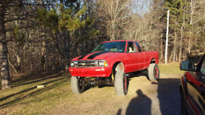 1994 Chevrolet s10 mud tail truck
