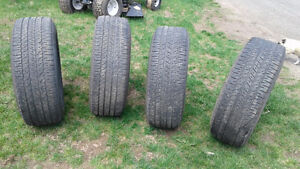 4 Tires with 85% tread on them