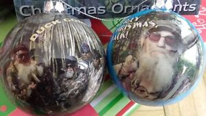 Duck Dynasty Christmas Ornaments (8) Brand New in Box.
