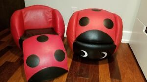 Chaise enfant Coccinelle/ Lady Bug kids chair
