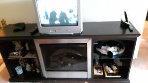 fireplace/tv stand and other items