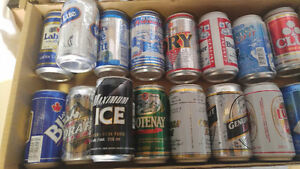 """BEER Cans """"full"""" collectible  cans for $30.00 FIRM London Ontario image 2"""