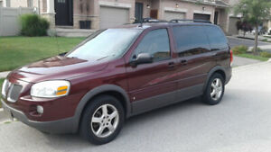 2010 Pontiac Montana, 154 km, DVD, AC ,Winter tires