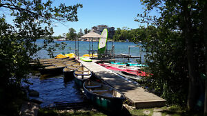 rent kayaks, canoes, pedal boats, and SUP'S