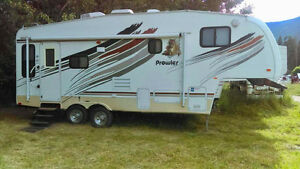 Reduced 2008-23ft. Fleetwood Prowler 5thWheel Extreme Edition