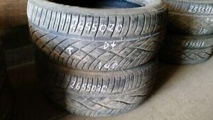 Pair of 2 Firestone Destination ST 265/50R20 tires (55% tread li