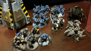 Space wolves Warhammer 40k army