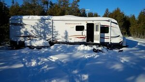 Bruce Peninsula Trailer for Rent on camp site
