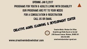 Creative Minds Learning & Development center Windsor Region Ontario image 1