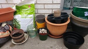 Soil and Planters