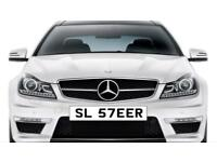 Private reg number for sale with fees paid