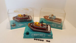 Lot of 3 Vintage Ideal Motorific Boats Boaterific 1960's