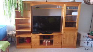 Pine Entertainment unit. Reduced price