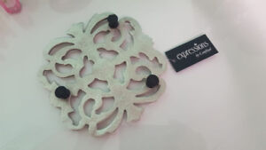 Sterling Silver Hot Plate/Trivet by Canfloyd ( Expressions)
