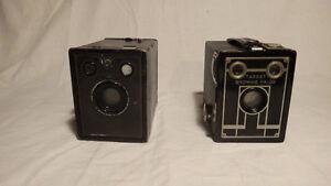 Antique Box Cameras
