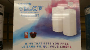 Linksys Velop (Kit de 2)(Brand New)
