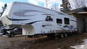 Fifth wheel quad bunks fox valley by discovery