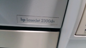 Hp 2300 laserjet printer and brand new cartridge £100 Now reduced