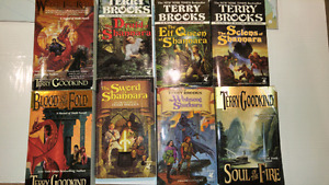Terry Brooks & Terry Goodkind books