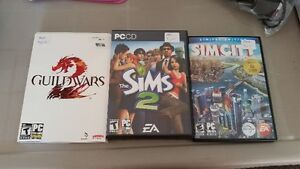 3 Video Games for PC