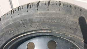 2014 Fiat 500 Sport Snow Tires and Rims