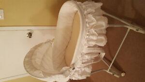 White bassinet
