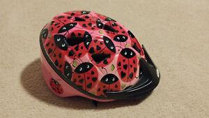 Girls Ladybug Helmet (Sz: Infant 47-51 cm)