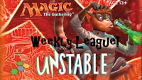 MTG Magic the Gathering Unstable Weekly League Event - Grimsby