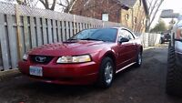 1999 Ford Mustang posible trade for RV.