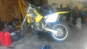 2001 rm250 quick sale
