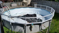 24 Foot Above Ground Swimming Pool