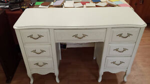 10 solid wood vintage desks ready for painting