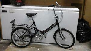Folding Schwinn Bike