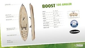 END OF SEASON SALE, BOOST 100 ANGLER ONLY $400
