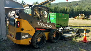 2013 Volvo MC85C Skid Steer