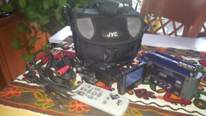 JVC Everio HDD 30GB Hard Disk Video Camcorder with accessories