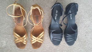 Women's dance shoes (salsa, ballroom) - size 10-11