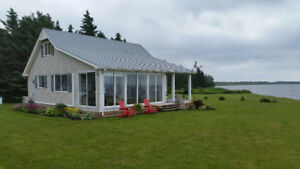 Cottage on South shore PEI, on the water for sale