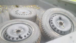 2013 ford focus winter tires and rims