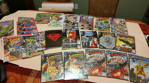 Superman Comic Book Collection