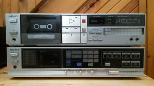 Vintage Sony FM-AM Receiver STR AV330 and Tape Deck TC FX310 Gatineau Ottawa / Gatineau Area image 1