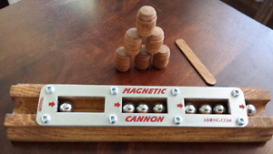 NEW MAGNETIC CANON (FIRES A STEEL BALL!)