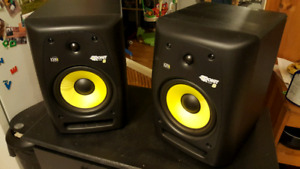Pair of KRK Rokit 8 Studio Monitors (Gen 2)