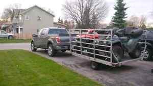 Triton sl-8 double Atv trailer