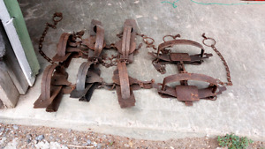 Antique Foothold Traps