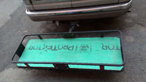 Foldable Cargo Carrier for 1 inch trailer hitch