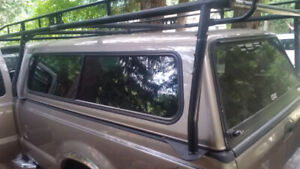 Long box ladder rack and canopy