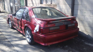 1987 Ford Mustang Gt parts only*sold*